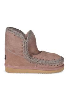Mou - Eskimo 18 ankle boots in dark pink