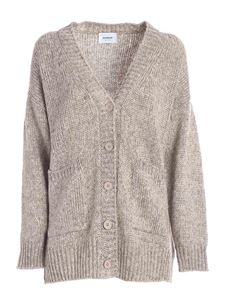 Dondup - Cardigan over beige melange