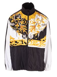 Versace - Barocco Acanthus print sweatshirt in black and white