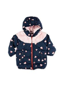 Little Marc Jacobs - Blue hearts down jacket