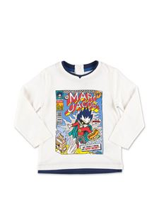Little Marc Jacobs - T-shirt bianca con stampa