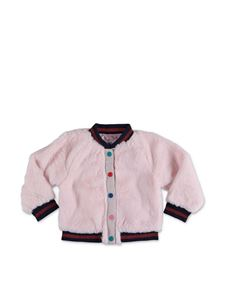 Little Marc Jacobs - Pink teddy bomber