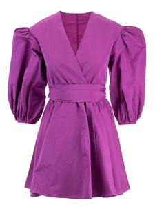 Valentino - Wrap dress in purple
