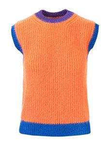 Valentino - Orange wool blend vest