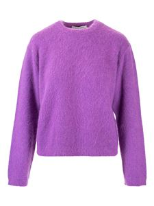 Valentino - VLogo pullover in purple