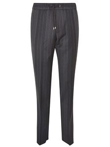 Etro - Pinstriped pants in black