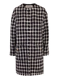 Valentino - Black and white tweed coat