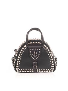 Jimmy Choo - Varenne Bowling mini bag in black