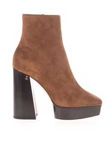 Jimmy Choo - Bryn 125 boots in brown