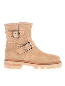 Jimmy Choo - Youth ankle boots in beige