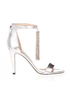 Jimmy Choo - Viola 100 sandals in silver color