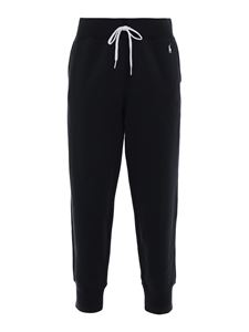 POLO Ralph Lauren - Logo embroidery tracksuit bottoms in black