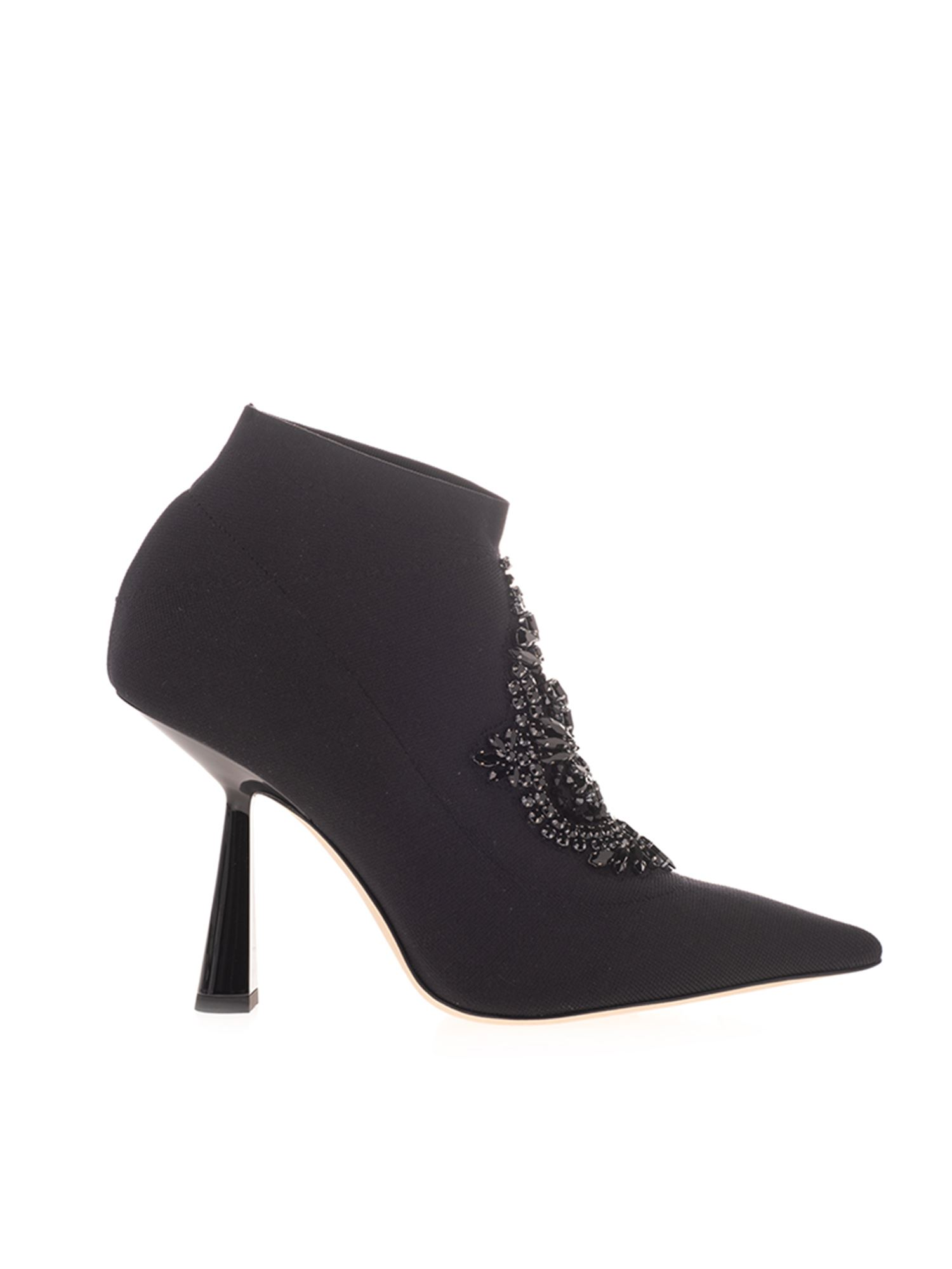 Jimmy Choo Ankle highs SABER 100 ANKLE BOOTS IN BLACK