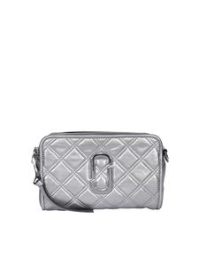 Marc Jacobs  - The Quilted Softshot 21 cross body bag in grey