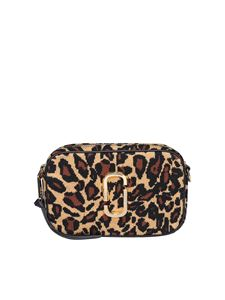 Marc Jacobs  - The Softshot 21 Leopard cross body bag in brown
