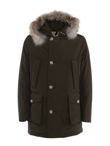Woolrich - Artic Parka down jacket in brown