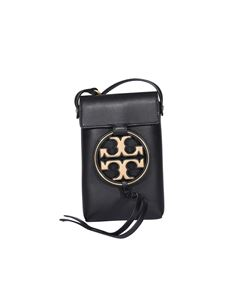 Tory Burch - Tracolla Miller in pelle nera