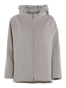 Moorer - Wool cashmere blend Delfina jacket in grey