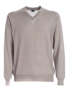 Fedeli - Cashmere and silk pullover in beige
