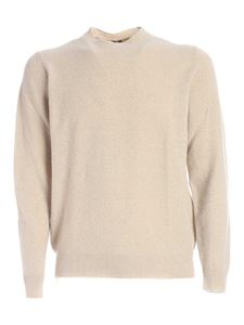 Fedeli - Cashmere blend pullover in beige