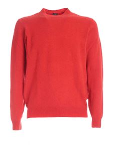 Fedeli - Cashmere blend pullover in red