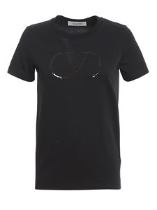 Valentino - VLogo Signature T-shirt in black