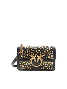 Pinko - Love Baby Icon New Studs bag in black