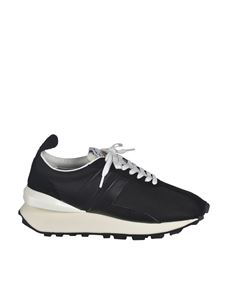 Lanvin - Logo sneakers in black
