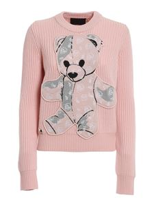 Philipp Plein - Teddy Bear jumper in pink