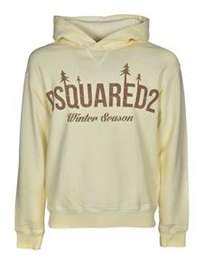 Dsquared2 - Winter Season hoodie in yellow