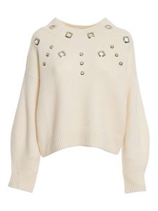 Pinko - Tagikistan jumper in white