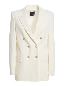 Pinko - Chinotto 3 blazer in white