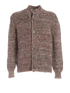 Fedeli - Multicolor details cardigan in brown