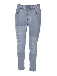 Dsquared2 - Ripped jeans in light blue