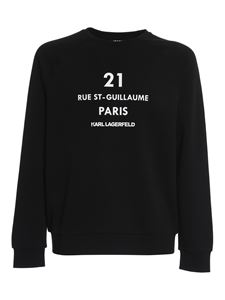 Karl Lagerfeld - Rue St-Guillaume sweatshirt in black