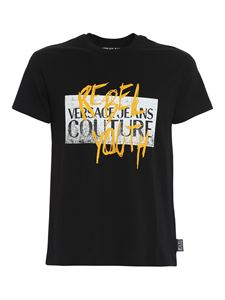 Versace Jeans Couture - Versace Rebel Youth T-shirt in black
