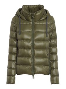 Herno - Globe padded jacket in green