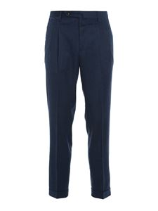 PT01 - Wood trousers in blue