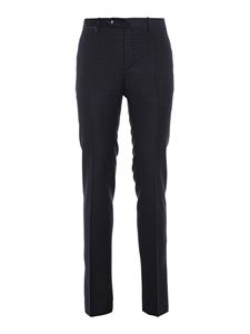 PT01 - Prince of Wales pants in blue