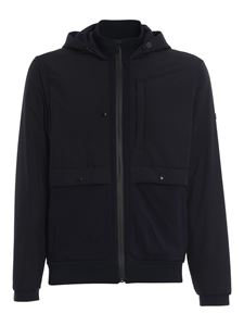 Z Zegna - Hooded jacket in blue