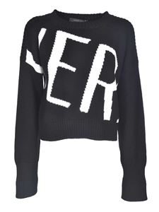 Versace - Pullover Ver in black