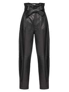 Red Valentino - Leather pants in black