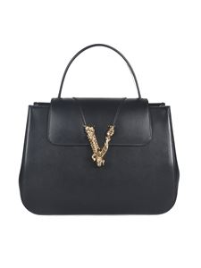 Versace - V Barocco Virtus handbag in black