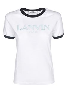 Lanvin - Branded T-shirt in white