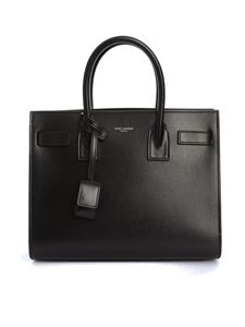 Saint Laurent - Sac de Jour Baby bag in black