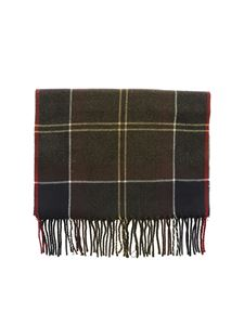 Barbour - Galingale multicolor check pattern scarf