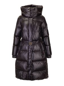 Woolrich - Aliquippa quilted parka jacket in black