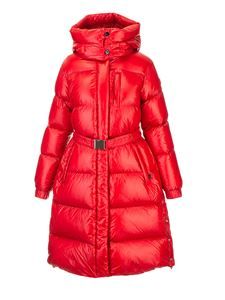 Woolrich - Aliquippa quilted parka jacket in red