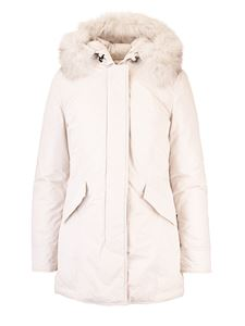 Woolrich - Padded Luxury Arctic Parka in white