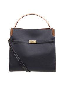 Tory Burch - Double Lee Radziwill handbag in black
